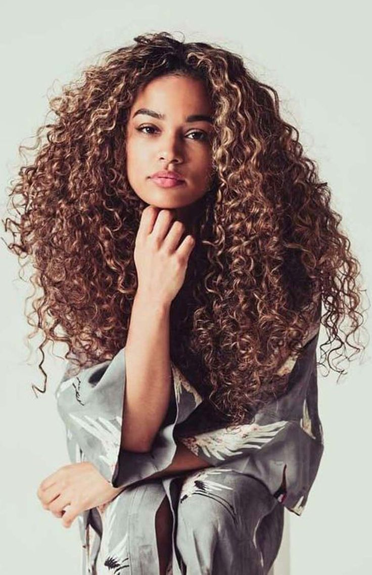 15 Most Charming Spring Hairstyles for Curly Hair   Curly hair ...