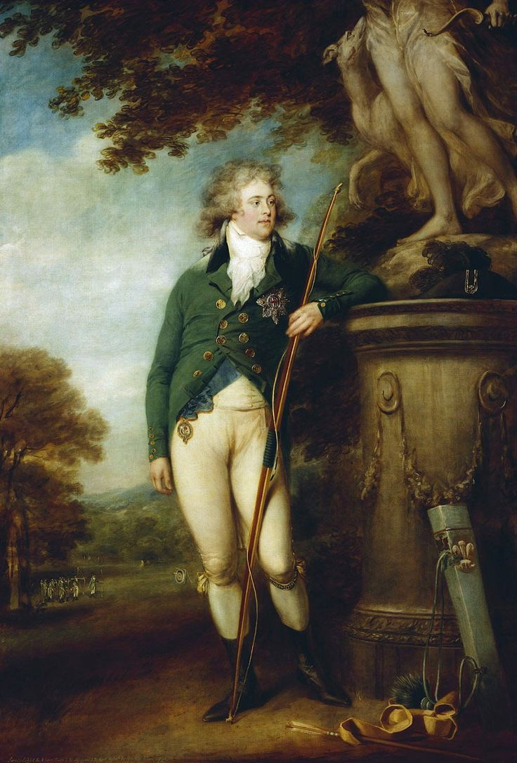 George IV, when Prince of Wales by John Russell