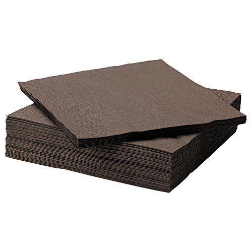 FANTASTISK 50 Pack Highly Absorbent Brown Paper Napkin Ikea http://www.amazon.co.uk/dp/B00HISCR12/ref=cm_sw_r_pi_dp_UHTgwb0ZEJT0B