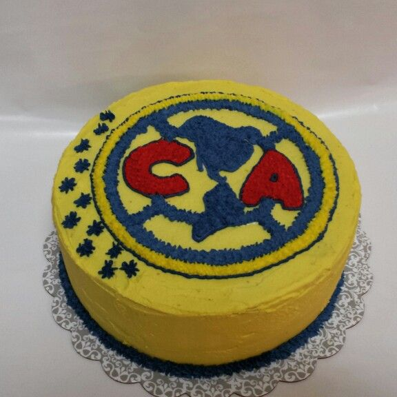 Club America Cake Find more at www.facebook.com/4LittlePies
