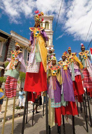 caribbean carnival...moko jumbis #SouthBeachSwimsuits