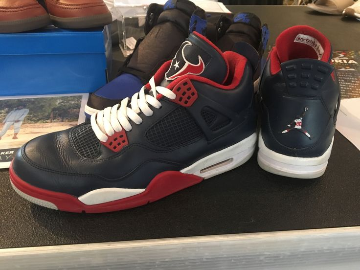 Bun B's Custom Houston Texans 4's