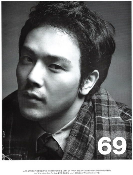 Park Yong Ha (박용하)' Vogue Magazine Photoshoot | Men Fashion 2010