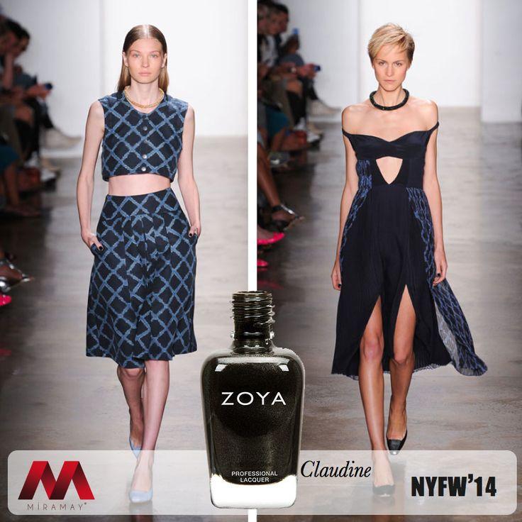 Sonbahar-Kış kreasyonunu NYFW 2014'de sunan ünlü modacı Timo Weiland birbirinden iddialı tasarımlarını modadan ilham alan Zoya Claudine ile bütünledi.