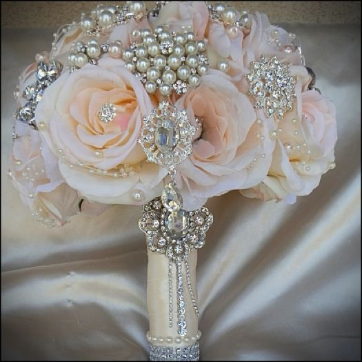 105 Best Wedding Day Bridal Brooch Bouquets Images On Pinterest