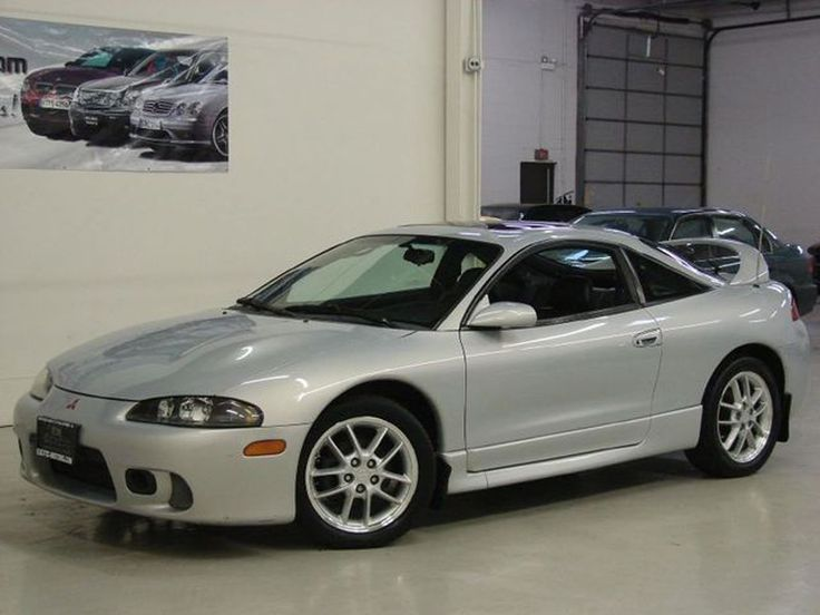 1999 Mitsubishi Eclipse GSX - It's hard to find any decent pictures of the 1990s Eclipse online. Almost all the photos are of ones that have been ridiculously modified.