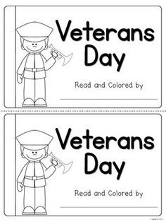 Veterans Day Emergent Reader (Free)