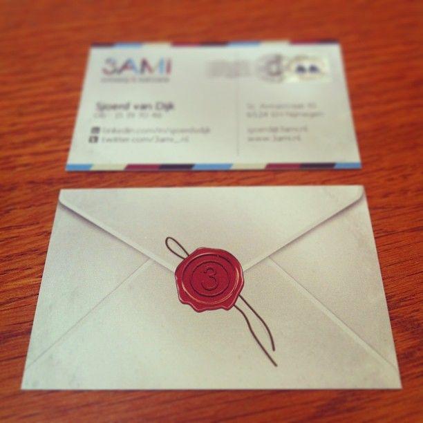 Nieuwe visitekaartjes 3AMI! #huisstijl #ontwerp #3AMI via @Drukwerkdeal.nl