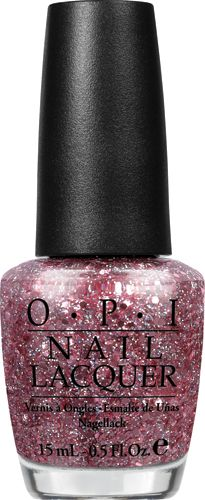 "Mariah Carey by OPI Collection   ""Pink Yet Lavender""  This pink glitter with lavender shimmer has superstar shine!"