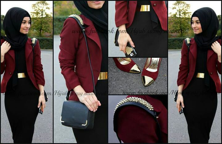 Outfit of the day. So classy, would be great for a night out with the girls.