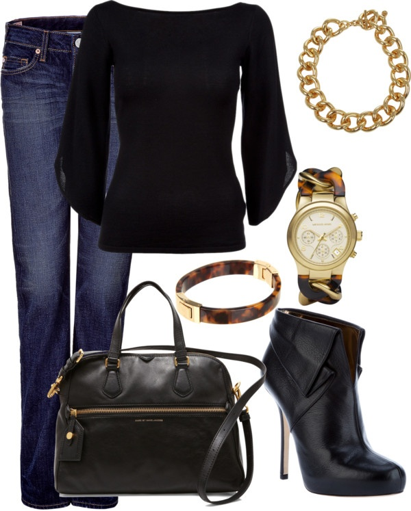 """""""Black and Tortoise"""" by averbeek on Polyvore"""