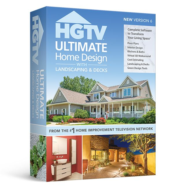 Home Design Software with Landscape & Deck by HGTV | Nova Development