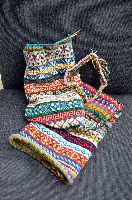 9 best Shetland Knitting Fair Isle images on Pinterest | Fair ...