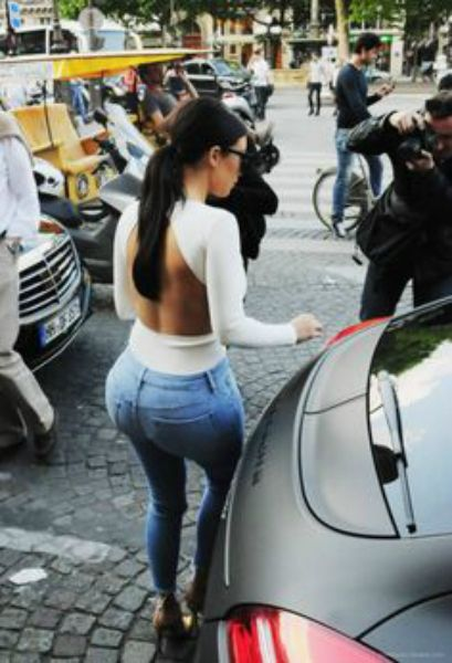Kim Kardashian And Her Magnificent Butt Rule The Web