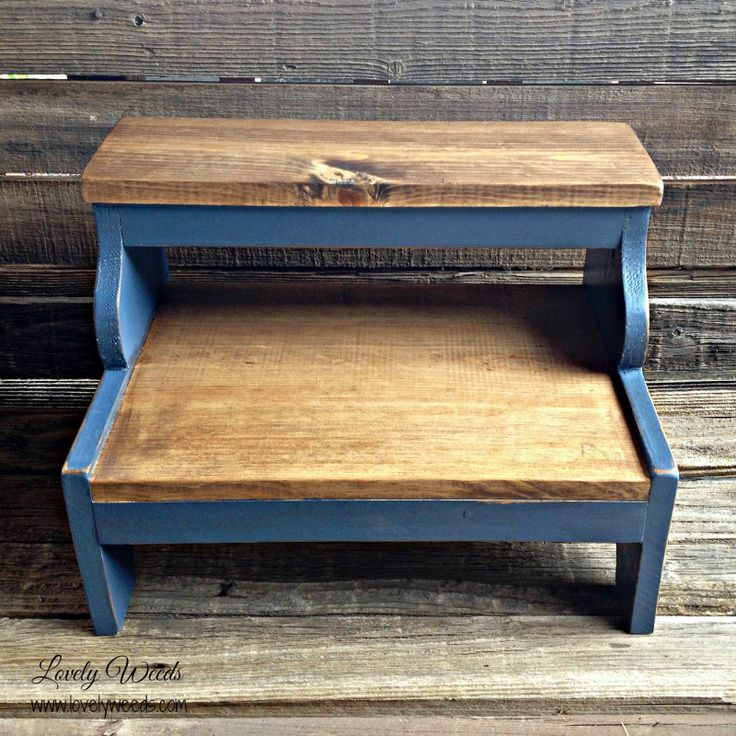How I built my Sweet Little Stools - Lovely Weeds