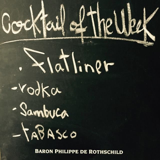 ! - Cocktail of the week - !  Today's cocktail : Flatliner  #eat #meet #eatmeets #amsterdam #netherlands #socialize #expat #clubsinamsterdam #amsterdamhousing #expatcenteramsterdam #socialclubamsterdam #footyamsterdam #newsnl #expaticanl #iamsterdam #iamexpat #internations #meal #foodie #foodpics #homemade #cook #instacook #instafood #lekkereten #uitinamsterdam #timeoutamsterdam #igeramsterdam #amsterdamfood