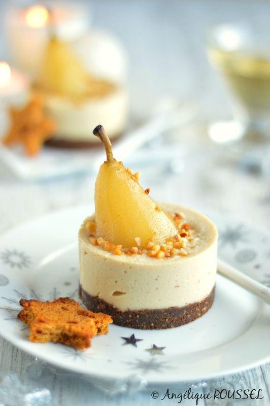 Bavarois Poire & Vanilla @ La Gourmandise selon Angie #vegan #végétal #sucré