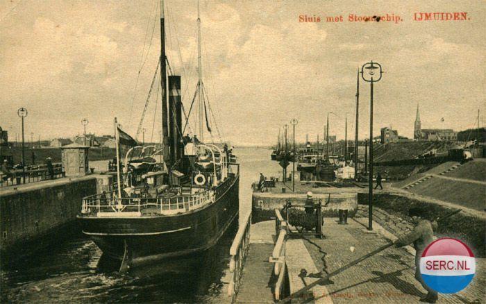 Sluis IJmuiden (jaartal: 1920 tot 1930) - Foto's SERC