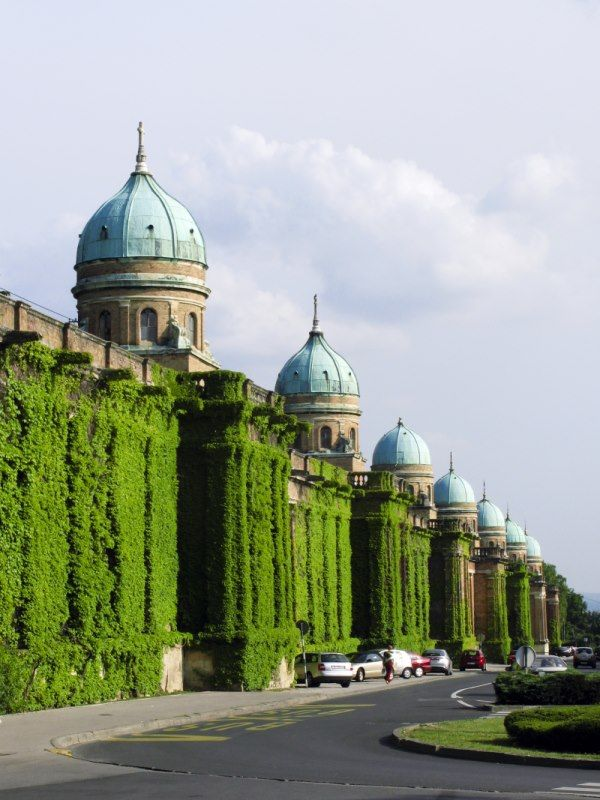 Zagreb, Mirogoj, cementary by Herman Bolle, famous architect http://www.travelandtransitions.com/european-travel/