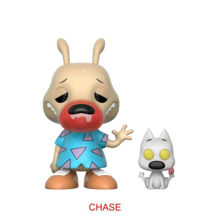 POP! Animation : Nickelodeon: Rocko's Modern Life: ROCKO AND SPUNKY (Sick Rocko) - Chase Limited Edition