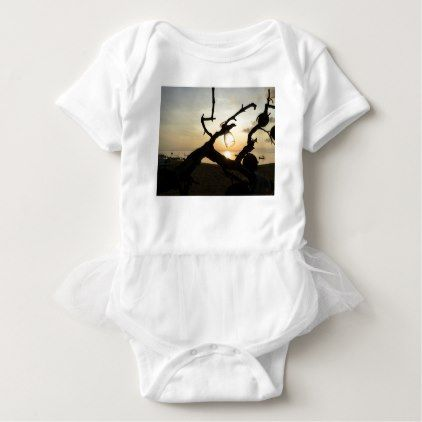 Sunrise on the Beach in Bali Baby Bodysuit - holidays diy custom design cyo holiday family