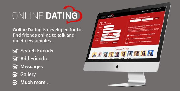 Online Dating Script . Online Dating is built with the well-known PHP framework CodeIgniter 3.0.0. No need to have any programming skills to put this script live thanks to the complete documentation. The script will be often updated with new features and you will be able to get these updates for free once the item