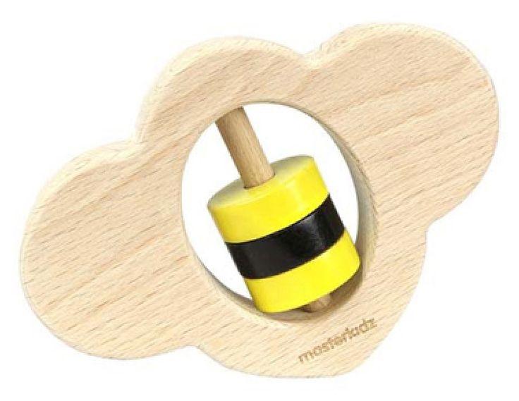 Mudpies - MasterKidz Wooden Hand Grasping Bee, $16.95 (http://mudpies.com.au/masterkidz-wooden-hand-grasping-bee/)