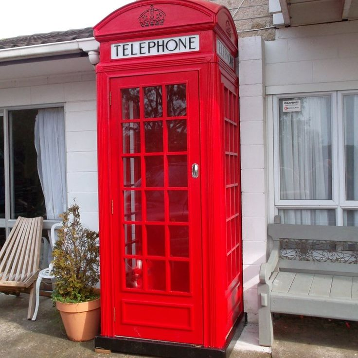 How to build a K2 red telephone box