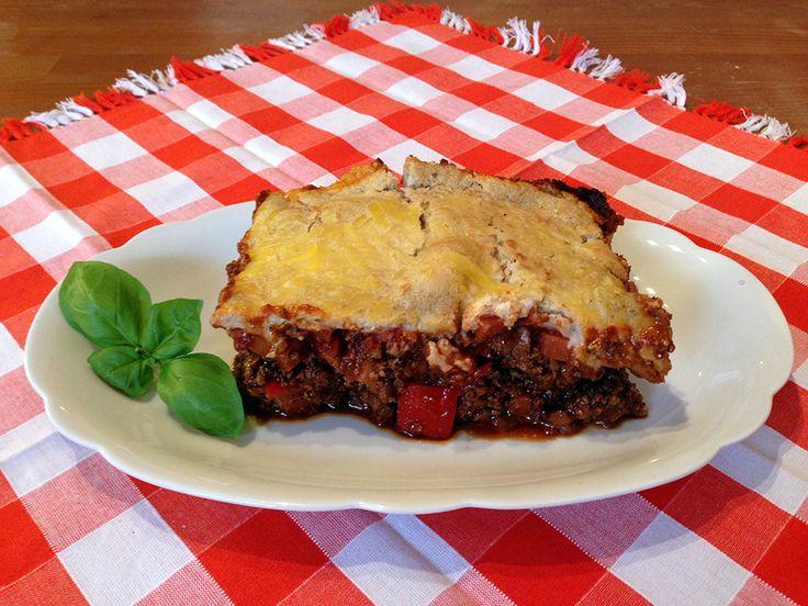 Vegane Lasagne al Forno mit Tofu