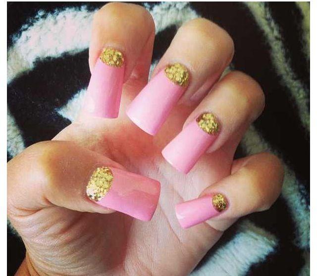 Trisha paytas inspired!  Next set of nails I plan on getting <3 love them!  #longnails#dontcare✌