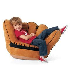 Amazing Baseball Glove Chair   Now This Is Major League Fun. Our Authentic Looking  Baseball
