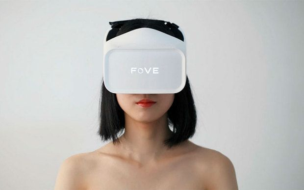 """Fove: the virtual reality headset you can control with your eyes"" http://www.telegraph.co.uk/technology/news/11615993/Fove-the-virtual-reality-headset-you-can-control-with-your-eyes.html?utm_content=bufferbcf2f&utm_medium=social&utm_source=pinterest.com&utm_campaign=buffer #wearables #wearabletech"
