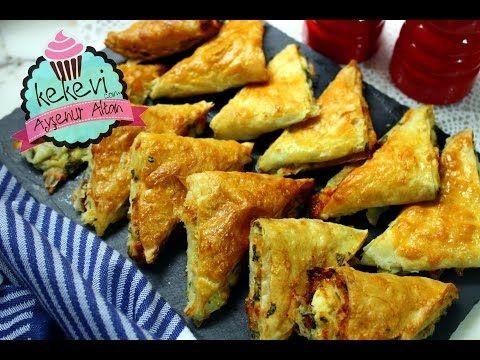 Tek Tek Sarmadan Kolay Üçgen Börek / Ayşenur Altan Yemek Tarifleri - YouTube