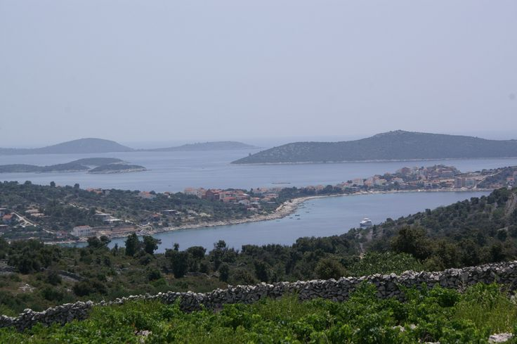 A view of the Rogoznica bay, Croatia