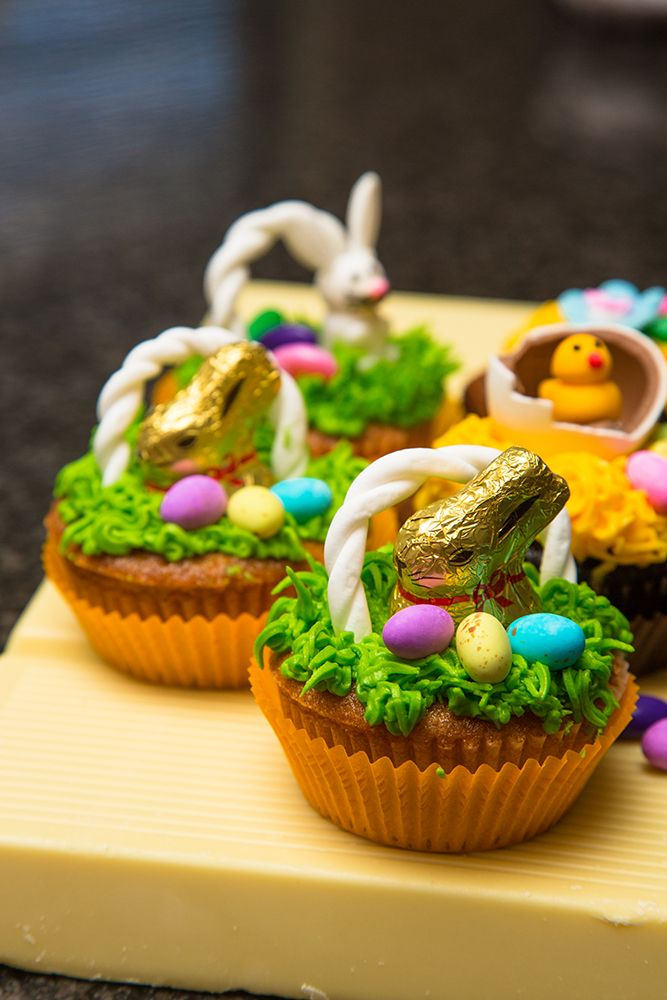 Yummy and cute idea for Easter cupcakes this year! #Easter #baking #cupcakes