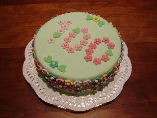 SCRAPPILLA: Torta di compleanno... 100 anni!!!