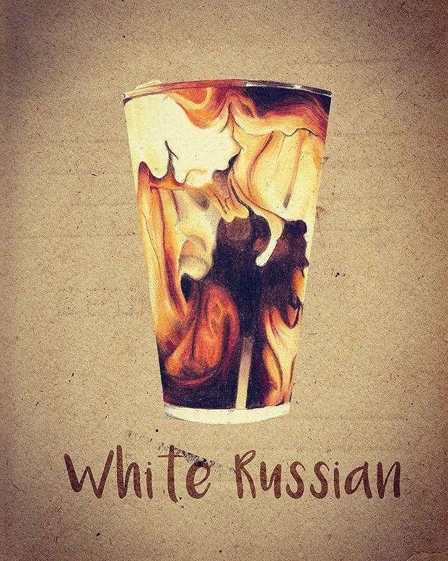 #illustration #drawing #painting #art #coloredpencils #whiterussian #cocktail #coffee #milk #cream #beverage #일러스트 #일러스트레이션 #드로잉 #그림 #색연필 #음식 #음료 #칵테일 #화이트러시안