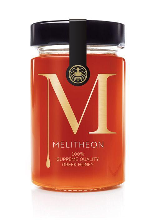 Packaging inspiration - Very subtle...Love it!: Honey Packaging, Bottle Labels, Honey Labels,  Essence, Packaging Design, Honey Jars, Branding Identity, Greek Honey, Labels Design