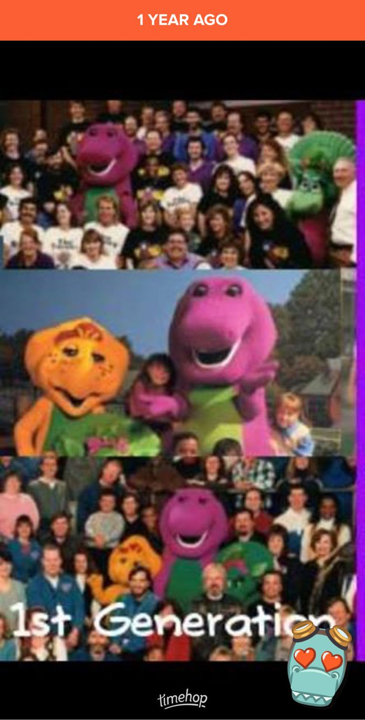 Barney Fan Club. First Generation. Seasons 1, 2, and 3