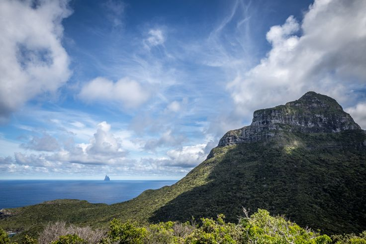 The view from the Dick Smith platform on Intermediate Hill | Lord Howe Island