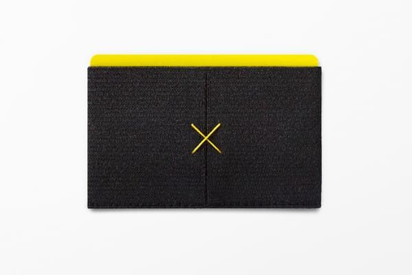 Black Slim Wallet from Supr Good Co