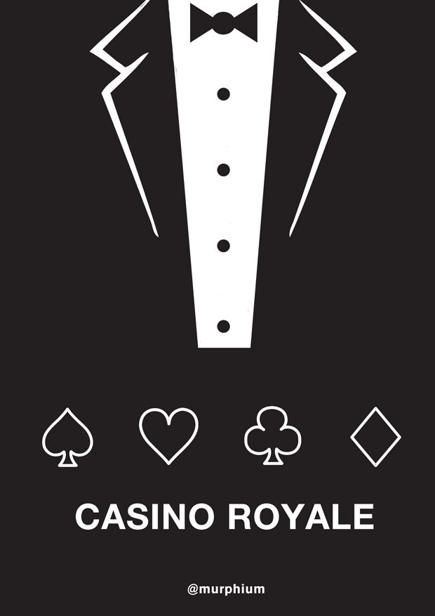 """If we went with """"Casino Royale"""" as the poster title, would this short be too cheesy?"""