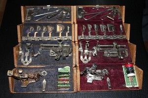 76 Best Images About Vintage Presser Feet Notions And Attachments On Pinterest