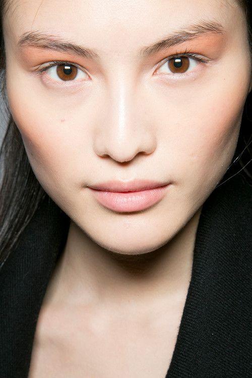who: Sui He where: Blumarine AW 13 for: pink eyeshadow