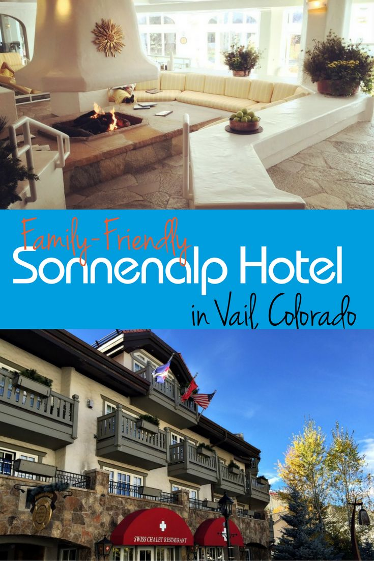 Get a taste of Germany at the family-friendly European-Style Sonnnealp hotel in Vail, Colorado.