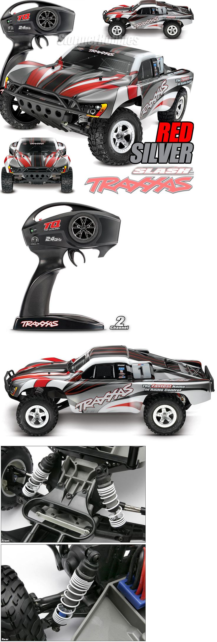 Cars trucks and motorcycles 182183 new traxxas slash xl 5 2wd rtr