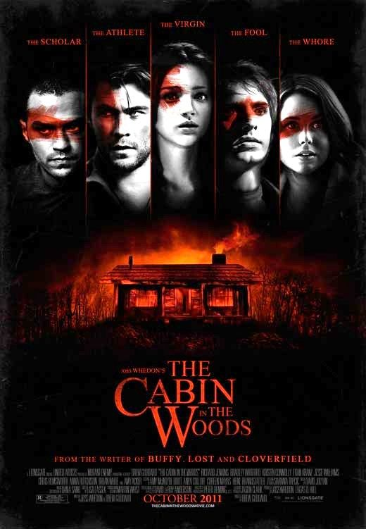 The Cabin in the Woods (2012) A unique take on the horror genre.