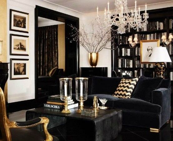38 Glam Gold Accents And Accessories For Your Interior | DigsDigs