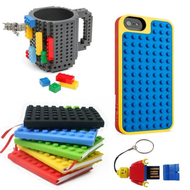 LEGOS: 75  Ideas, Tips and Hacks-AGK! LOVE THE PHONE!!!!