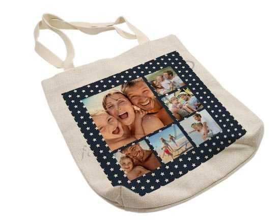Shopper in Juta Collage stars